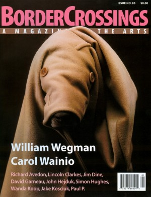 Volume 22, Number 1: William Wegman