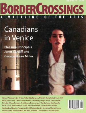 Volume 20, Number 2: Canadians in Venice