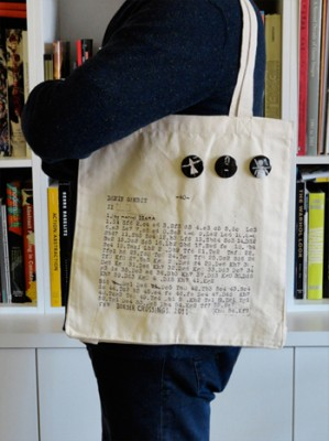 Limited Edition Tote Bag and Artist Buttons: Marcel Dzama