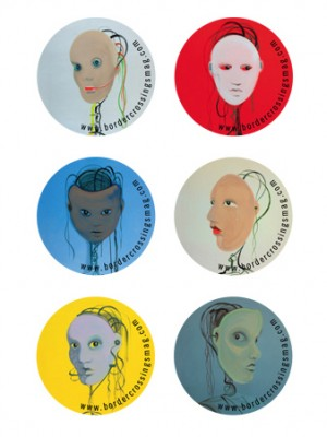 Limited Edition Artists Buttons: Wanda Koop